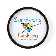 Survivors United Wall Clock