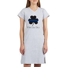 BLUELINE_pocket_gaelic Women's Nightshirt