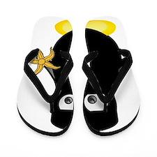 ninjapenguinstarfish Flip Flops