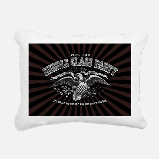 2-emcee-party-OV Rectangular Canvas Pillow