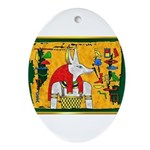 Anubis2.jpg Ornament (Oval)