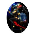 Anubis19.jpg Ornament (Oval)