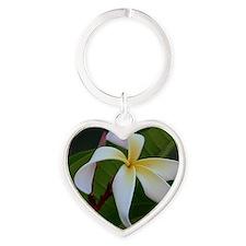AmmaronsCurlyWhite_quatro Heart Keychain
