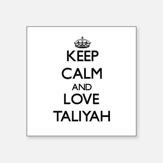 Keep Calm and Love Taliyah Sticker