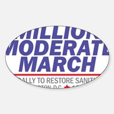 Million Moderate March Blue Stack Decal
