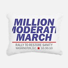 Million Moderate March B Rectangular Canvas Pillow