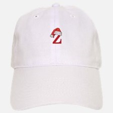 Letter Z Christmas Monogram Baseball Baseball Cap
