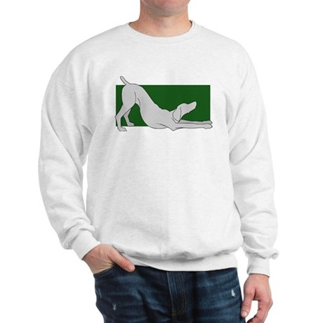 Stretching Weim 2 Sided Sweatshirt