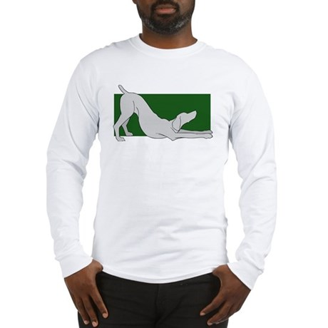 Stretching Weim Long Sleeve 2 Sided T-Shirt