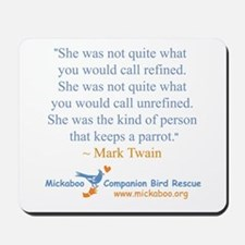 Twain Quote Mousepad