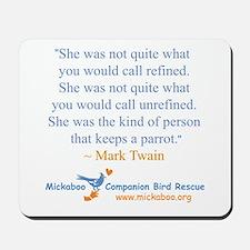 Twain Quote Mousepad