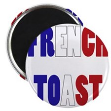 FRENCH TOAST TEXT. Magnet