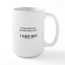 Second Language Mug