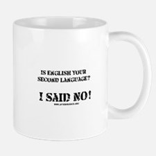 Second Language Mug