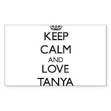Keep Calm and Love Tanya Decal