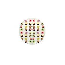 CupcakesTShirt Mini Button