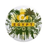 2-z Yellow Egypt.jpg Ornament (Round)