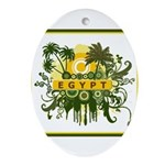 2-z Yellow Egypt.jpg Ornament (Oval)