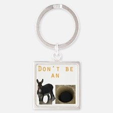 dontass Square Keychain