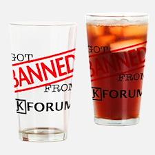 Got Banned.12.12 Drinking Glass