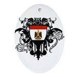 3-I Love Egypt 70.jpg Ornament (Oval)