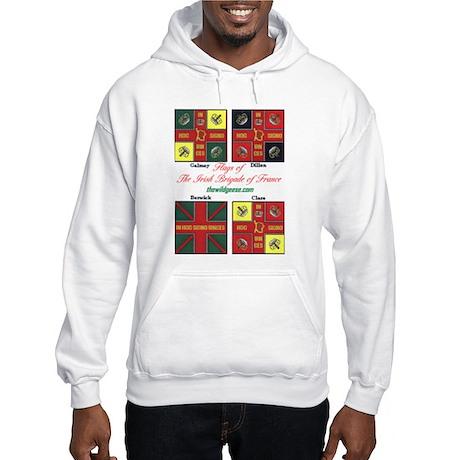 Flags/Irish Brigade Fr-Hooded Sweatshirt