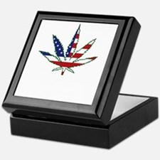 Pot Flag Keepsake Box