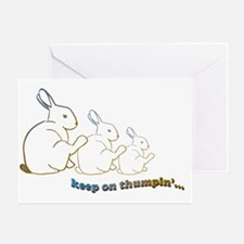 keep on thumpin copy Greeting Card