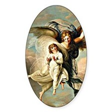 Angel and Child Decal