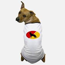 German Flag Shepherd Dog T-Shirt