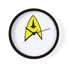 Star Trek Insignia- Black A Wall Clock