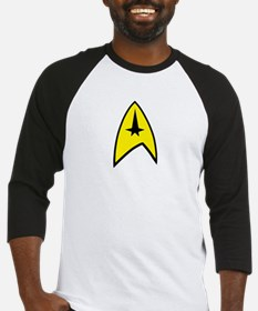 Star Trek Insignia- Black A Baseball Jersey