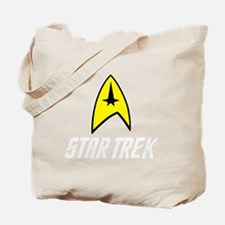Star Trek Insignia- Black A Tote Bag