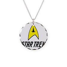 Star Trek Insignia- Black Necklace