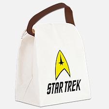 Star Trek Insignia- Black Canvas Lunch Bag