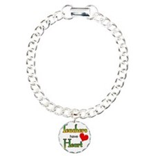 Teachers Have Heart gree Charm Bracelet, One Charm