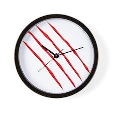 scartch2 Wall Clock
