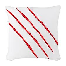 scartch2 Woven Throw Pillow