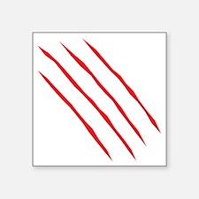 "scartch2 Square Sticker 3"" x 3"""