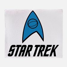 Star Trek Insignia Blue- Black Throw Blanket