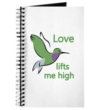 Love Lifts Me High Journal