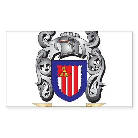 Knock Coat of Arms - Family Crest Sticker