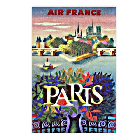 Travel *Paris, France* - Postcards (Package of 8)