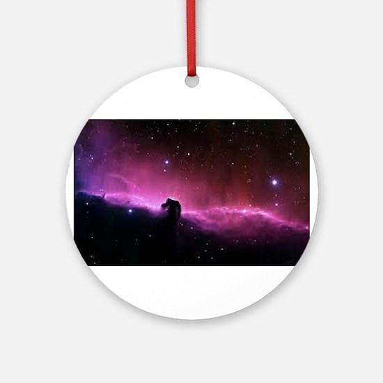 The Horsehead Nebula Ornament (Round)