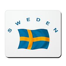 Flag of Sweden Mousepad