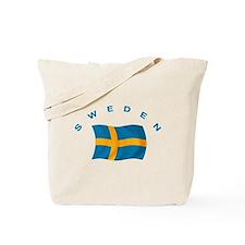 Flag of Sweden Tote Bag