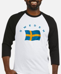 Flag of Sweden Baseball Jersey