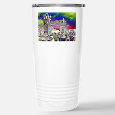 Retro London Travel Mug