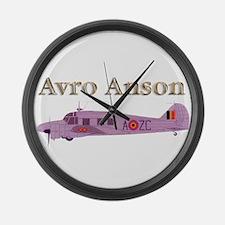 Avro Anson Large Wall Clock