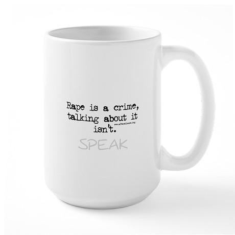 Talk About It Large Mug
